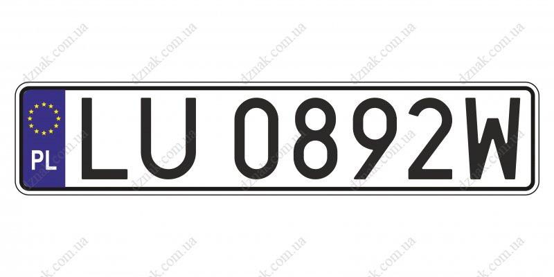 Польские номера
